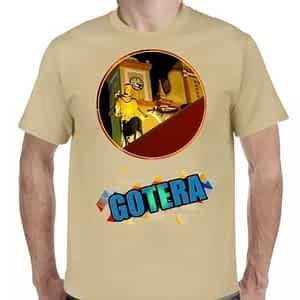 Camiseta 2 Beige Claro, San Francisco Gotera, Morazán, El Salvador.