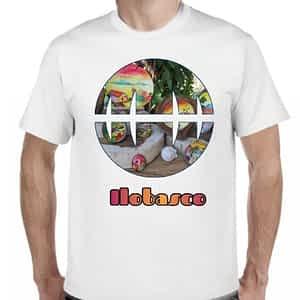 Camiseta 2 Blanco, Ilobasco, Cabañas, El Salvador.