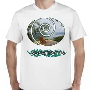 Camiseta 2 Blanco, Suchitoto, Cuscatlan, El Salvador.