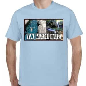 Camiseta 2 Celeste Claro, Tamanique, La Libertad, El Salvador.