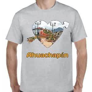 Camiseta 2, Gris Claro, Ahuachapán, Ahuachapán, El Salvador.