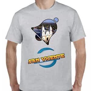 Camiseta 2 Gris Claro, San Vicente, San Vicente, El Salvador.