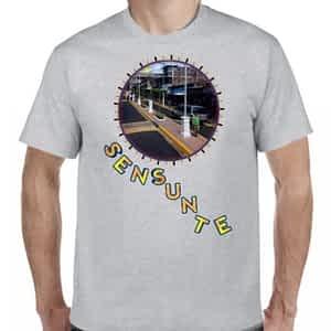 Camiseta 2 Gris Claro, Sensuntepeque, Cabañas, El Salvador.