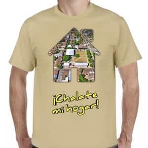 Camiseta Beige Claro, Chalatenango, Chalatenango, El Salvador.