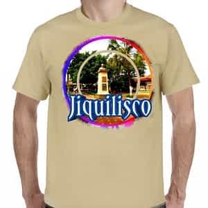 Camiseta Beige Jiquilisco, Usulután, El Salvador.