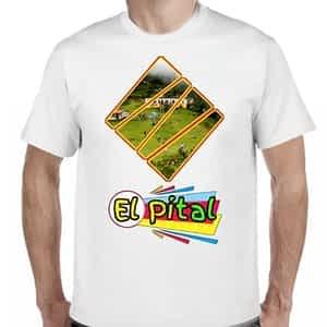 Camiseta Blanco, El Pital, San Ignacio, Chalatenango, El Salvador.
