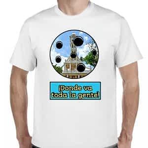 Camiseta Blanco, San Vicente, San Vicente, El Salvador.
