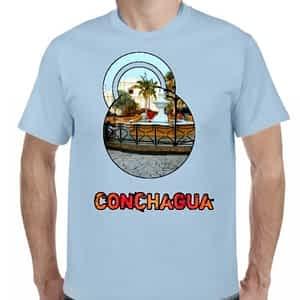 Camiseta Celeste Claro, Conchagua, La Unión, El Salvador.
