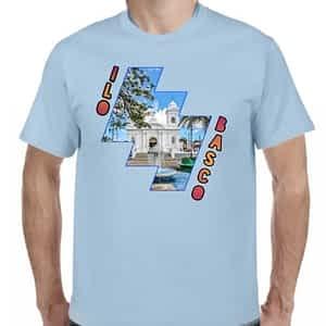 Camiseta Celeste Claro, Ilobasco, Cabañas, El salvador