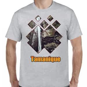 Camiseta Gris Claro, Tamanique, La Libertad, El Salvador.