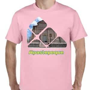 Camiseta Rosado Claro, Apastepeque, San Vicente, El Salvador.