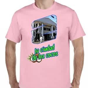 Camiseta Rosado Claro, La Ciudad de los Cocos, Sonsonate, Sonsonate, El Salvador.