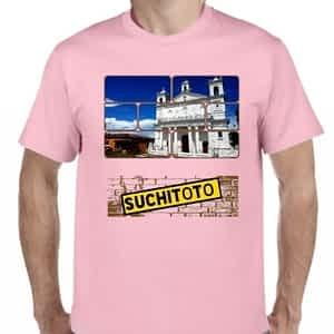 Camiseta Rosado Claro, Suchitoto, Cuscatlan, El Salvador.