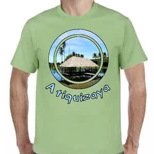 Camiseta Verde Claro, Atiquizaya, Ahuachapan, El Salvador.