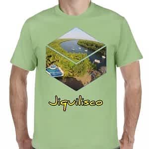 Camiseta Verde Claro, Bahía de Jiquilisco, Jiquilisco, Usulután, El Salvador.