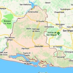 Mapa, Usulután, El Salvador