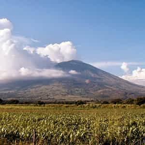 Volcán de San Miguel, El Salvador.