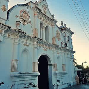 Iglesia Católica Chapeltique, San Miguel, El Salvador