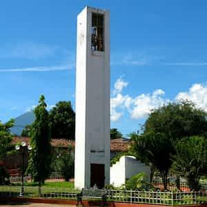 Monumento del Parque Central de Moncagua, San Miguel, El Salvador