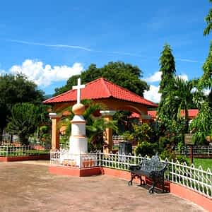 Parque Central de Moncagua, San Miguel, El Salvador