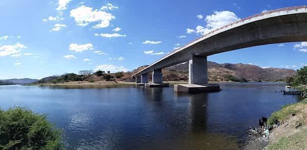 Puente Río Lempa, Nuevo Edén de San Juan, San Miguel, El Salvador